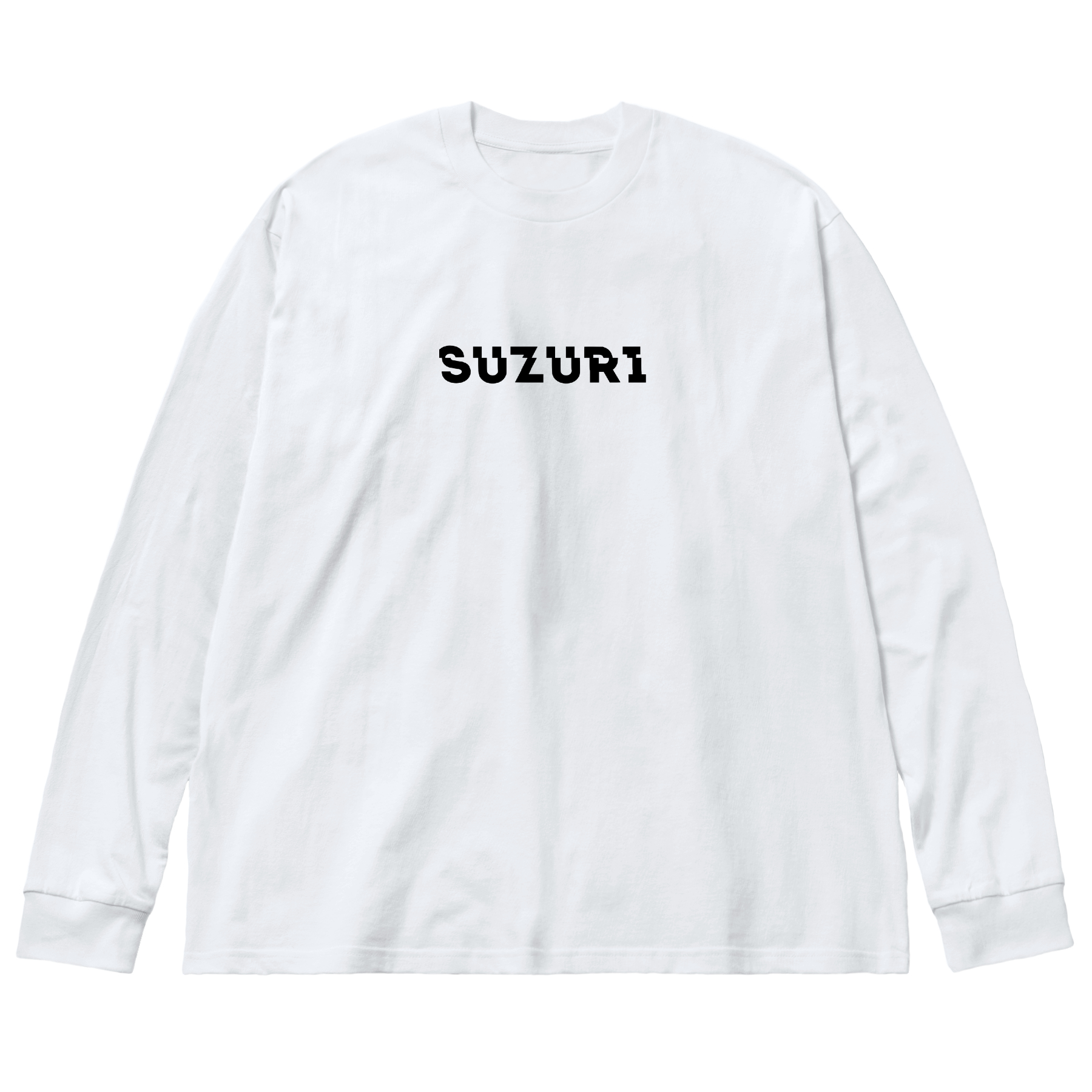 Big silhouette long sleeve T-shirts